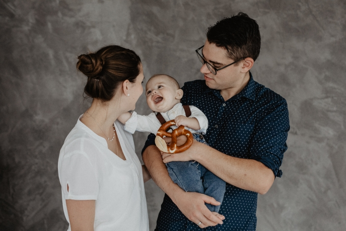 Familienshooting Fotostudio